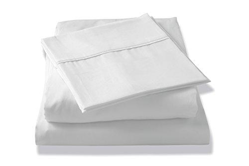 Brielle Tencel Sateen Sheet Set, King, White