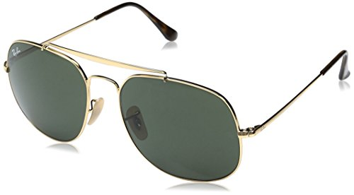 Case included Lenses are prescription ready (rx-able) Ray Ban 3561, also known as the general, will make you feel like the boss. Crafted in the aviator spirit, this frame offers a tougher and more square shaped look than its predecessor