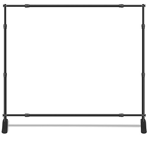 Backdrop Adjustable Banner Stands 10' Width x 8' Height for Trade-show