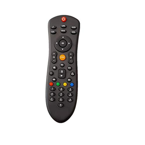 DISH TV Set Top Box Remote with Recording Feature for All Dish TV SD/HD Set Top Box 10