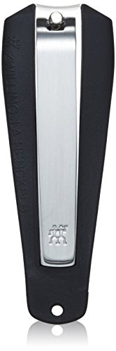 Stainless steel Nail catching component Sturdy clipper with lever ensures a clean cut each time.