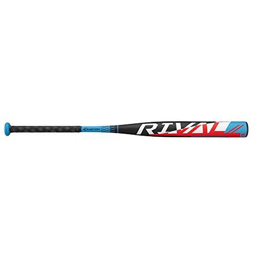 EASTON Rival Slowpitch Softball Bat | 2019 | 1 Piece Aluminum | Power Loaded | ALX50 Alloy | 12 inch Barrel | Certification 1.20 BPF | ASA / ISF / USSSA / NSA / ISA