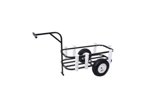 Sea Striker BRSC-DLX Beach Runner Deluxe Fishing Cart with Pneumatic Wheels