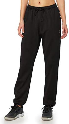 BALEAF Women's Running Thermal Fleece Pants Zipper Pocket Athletic Joggers Sweatpants Adjustable Ankle Winter Track Pants 6