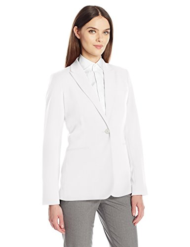 Calvin Klein Women's Single Button Suit Jacket 1 Fashion Online Shop Gifts for her Gifts for him womens full figure