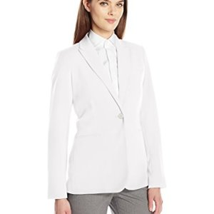 Calvin Klein Women's Single Button Suit Jacket 8 🛒 Fashion Online Shop gifts for her gifts for him womens full figure