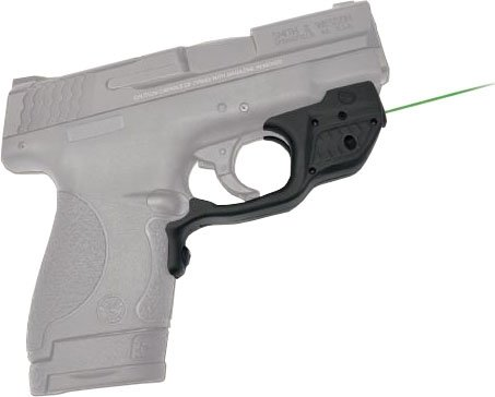 Crimson Trace Green Laserguard For Smith Wesson M&P Shield with Pocket  Holster - LG-489GH – The GunGuyTV Store