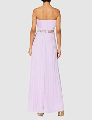 TRUTH-FABLE-Womens-Lace-Insert-Maxi-Dress