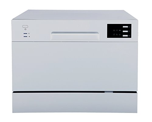 SPT SD-2225DS Countertop Dishwasher with Delay Start & LED, Silver