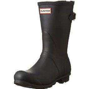 Hunter Women's Original Short Back Adjustable Rain Boot