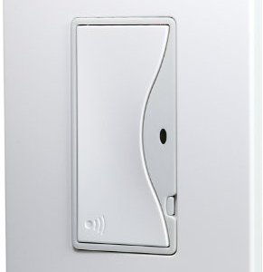 Cooper Wiring Devices RF9518AW Aspire RF Single-Pole Wireless Light Switch, 8-Amp