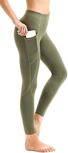 AFITNE Women's High Waist Yoga Pants with Pockets, Tummy Control Workout Running 4 Way Stretch Yoga Leggings 1