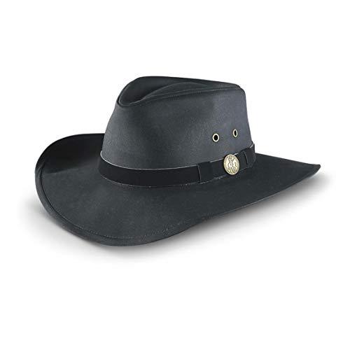 Outback Trading Kodiak Hat, Black, XL
