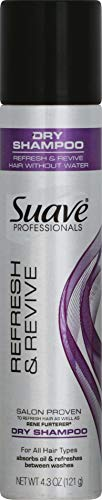 Suave Professionals Refresh & Revive Dry Shampoo, 4.3 Oz