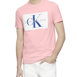 Calvin Klein Men's Short Sleeve Monogram Logo T-Shirt 4 Fashion Online Shop Gifts for her Gifts for him womens full figure