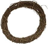 "Bulk Buy: Darice Grapevine Wreath 12"" Bulk GPV12 (3-Pack)"