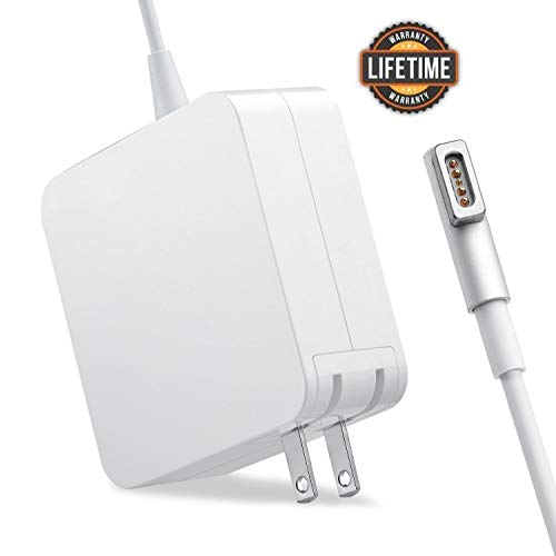 Mac Book Pro Charger, for MacBook Pro Charger 60W Magsafe L-Tip Power Adapter for MacBook Pro 13-inch (Before Mid 2012) (60W-L)
