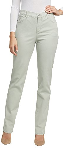 Gloria Vanderbilt Women's Amanda Classic Tapered Jean, Desert sage, 12