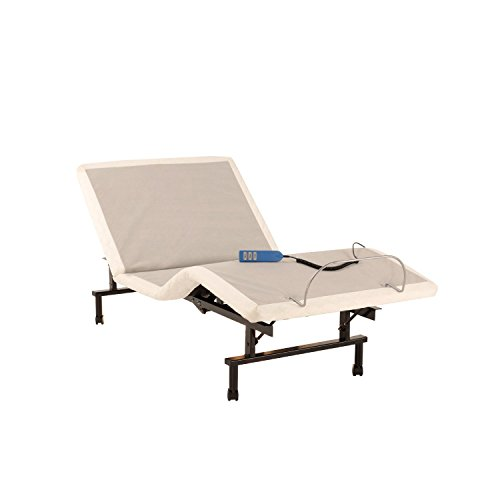 leggett & platt - home textiles ShipShape Adjustable Bed Base with Ultra-Quiet Motor and Wired Remote, Twin XL