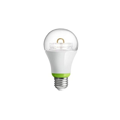 GE Link Smart LED Light Bulb, A19 Soft White (2700K), 60-Watt Equivalent, 1-Pack, Zigbee, Works with Alexa