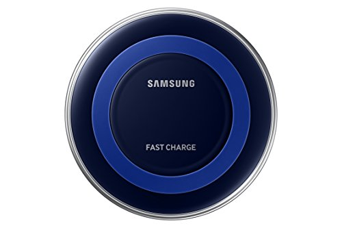 Samsung Qi Certified Fast Charge Wireless Charger Pad (Special Edition) - US Version - Black/Blue