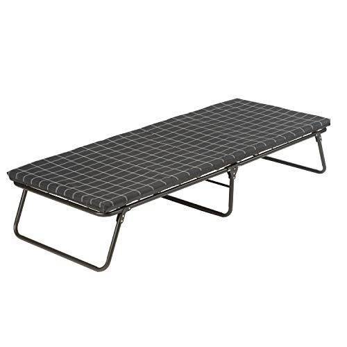 Coleman Camping Cot with Sleeping Pad | Folding ComfortSmart Camp Cot with Mattress Pad