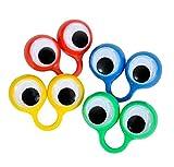 Large Eye Finger Puppets (12/Pack) Novelty