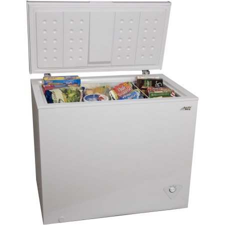 Arctic King 7 Cu Ft Chest Freezer In White Adjustable