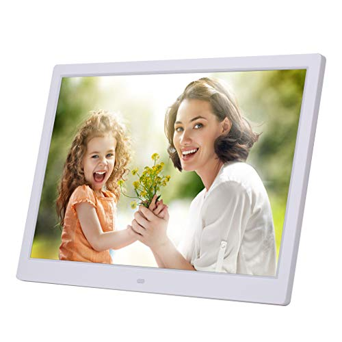 Zi yue ju 15 Inch Widescreen Digital Photo Frame HDMI Display 1280800 - Digital Picture Frame with 16:9 Hi-Res Display, Motion Sensor, USB and SD Card Slots and Remote Control
