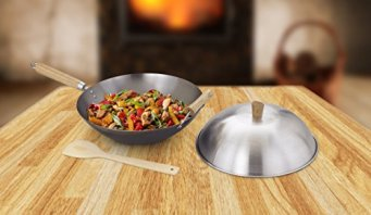 Helen-Chens-Asian-Kitchen-Carbon-Steel-Wok-Stir-Fry-Pan-12-inch