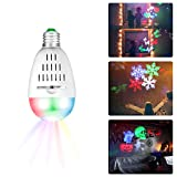 Zeonetak Halloween Night Light Projector Sleep Soothing Baby Room Nursery Lamp Soft Lighting for Home Party Wedding Christmas Decoration(Projection Area 50-150 sq ft 6 Patterns