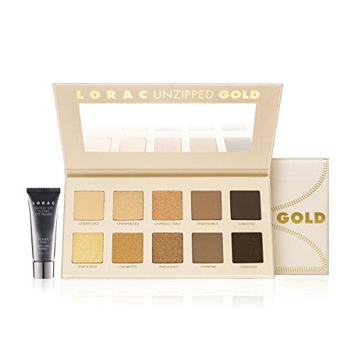 41%2Bb5yksrpL LORAC Unzipped GOLD Shimmer & Matte Eye Shadow Palette Gold