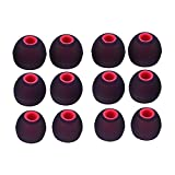 Sunmns 6 Pairs Silicone Eartips Eargels Earpads Ear Tips Gels Bud Compatible for Senso, Zeus, Otium, Hussar Sport Bluetooth Headphones