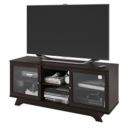 Ameriwood Home Englewood TV Stand for TVs up to 55″, Espresso