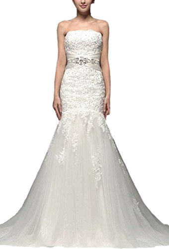 61onF3XtvlL Tull and lace wedding dresses Built-in bra. Dry clean only. Custom-made, Color-change Available