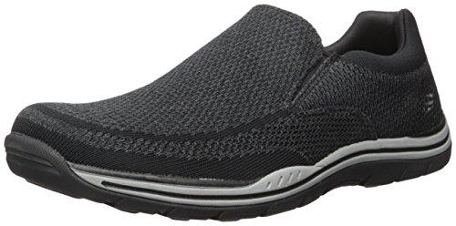 Skechers Men's Expected Gomel Slip-on Loafer,Black,14 M US