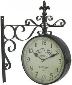 Upper Deck Vintage Victoria Station Railway Station Clock