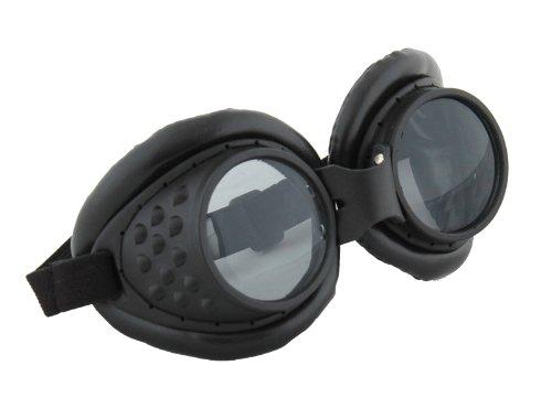 elope Radioactive Aviator Goggles, Black, One Size