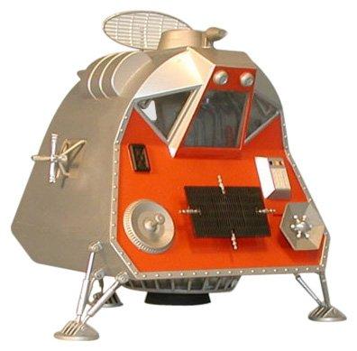 Moebius-Models-901-124-Lost-in-Space-Space-Pod-MOES0901