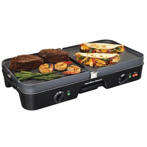 Hamilton Beach 38546 3-In-One Grill/Griddle
