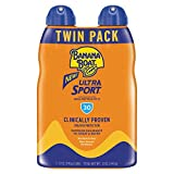 Banana Boat Sunscreen Sport Performance, Broad Spectrum Sunscreen Spray - SPF 30 - 6 Ounce Twin Pack
