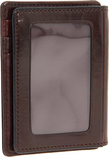 Bosca Dark Brown Old Leather Front...