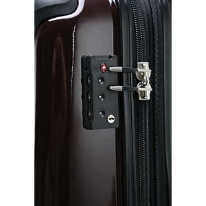 Integrated TSA lock