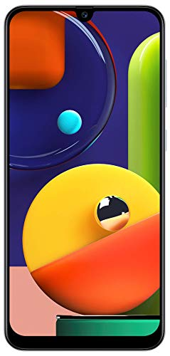 Samsung Galaxy A50s (Prism Crush White, 4GB RAM, 128GB Storage) with No Cost EMI/Additional Exchange Offers 125