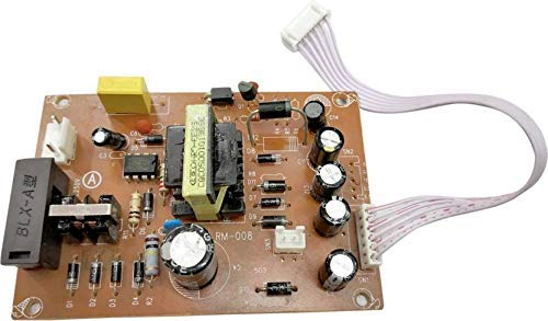 Satguru Power Supply Circuit Board for Free to Air D2H DTH Set Top Box Satellite Receiver Replacement SMPS PCB (Brown) 110