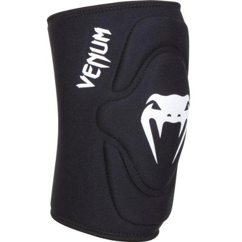 Venum 'Kontact' Lycra/Gel Knee Pads, Black, X-Large