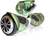 T5 Silicone Case for SWAGTRON T5 ONLY- Electric Self Balancing Scooter Full-Body Protector Cover Skin for T5 Hover Board (Scooter not Included) (Camo Green)