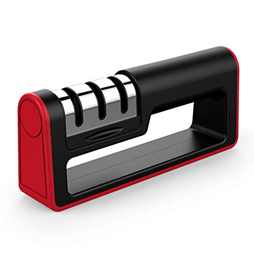 Kitchen Knife Sharpener, Ulwae 3 Stages...