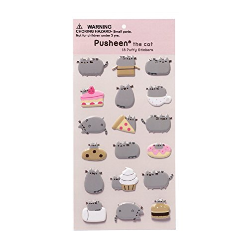 GUND-Pusheen-18-Sticker-Sheet