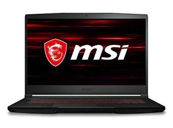 MSI GF63 Thin 9SCX-615 15.6' Gaming Laptop, Intel Core i5-9300H, NVIDIA GTX 1050Ti, 8GB, 512GB NVMe SSD, Win10